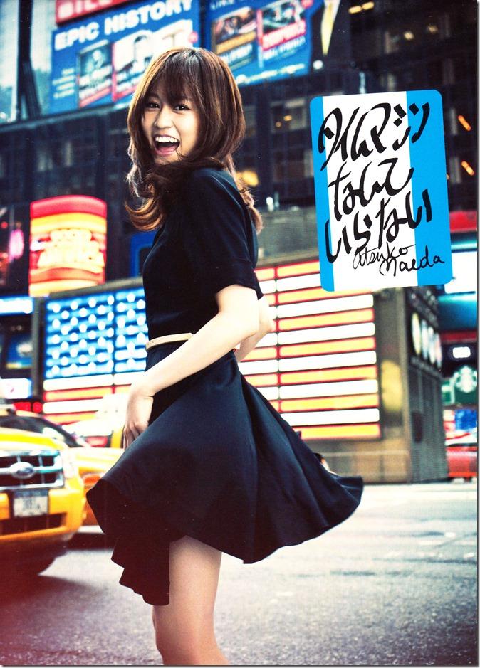 Maeda Atsuko Time machine nante iranai LE single type B (1)