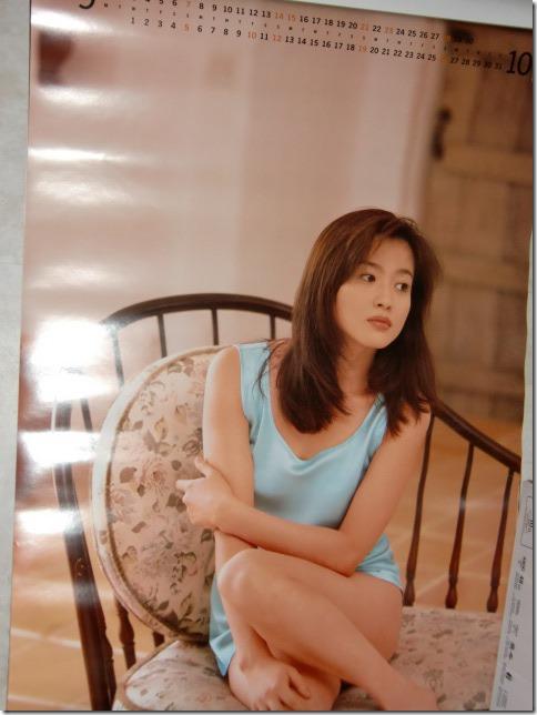 Miura Rieko 1997 calendar (6)