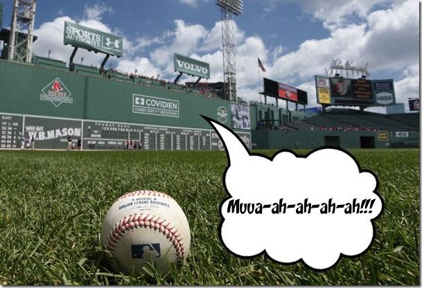 Fenway's Green Monster says..