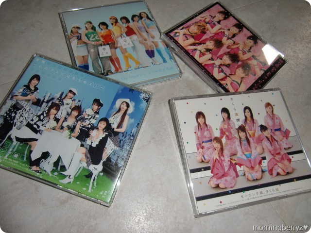 Morning Musume Sakuragumi & Otomegumi single releases