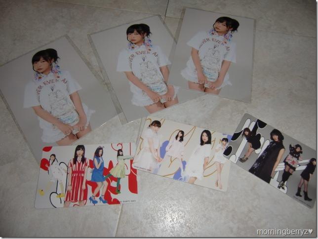 Not Yet Hiri Hiri no Hana first press cards & external Neowing Photo extras