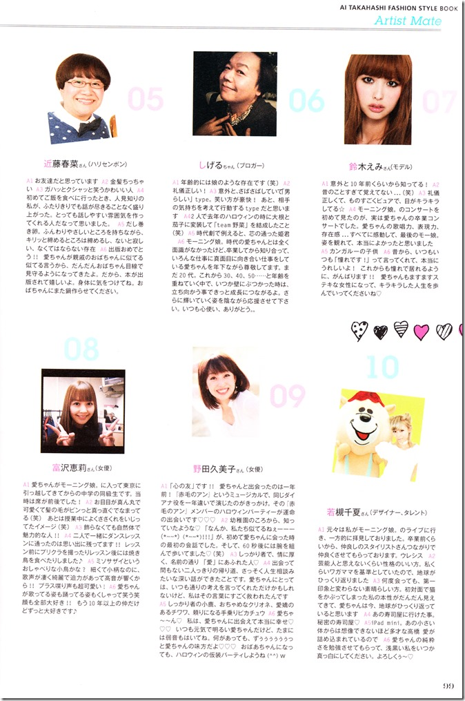 Takahashi Ai Ai am I. FASHION STYLE BOOK (101)