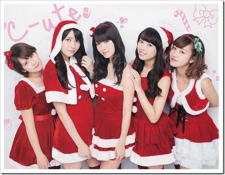 C-ute MERRY CHRISTMAS