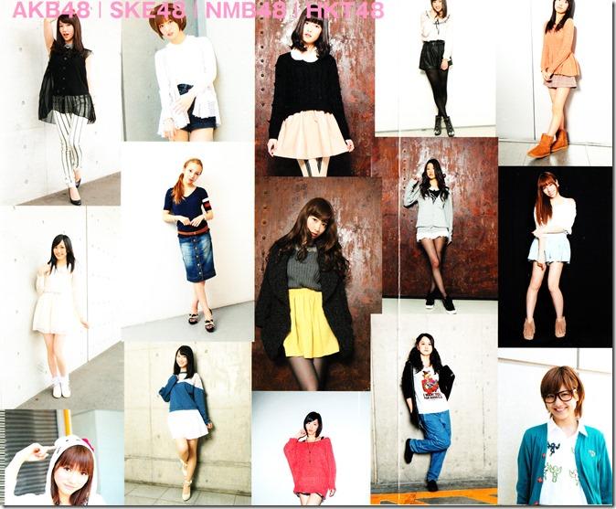 AKB48, SKE48, NMB48, HKT48 Oshare Sosenkyo! Shifuku Senbatsu no Center wa Dare (2)