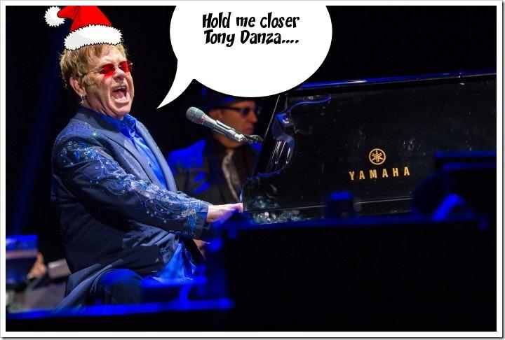 Elton John sings...