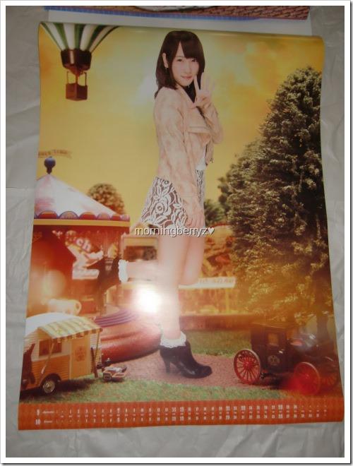 Kawaei Rina 2014 Wall Calendar (6)