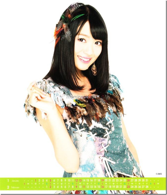 Kitahara Rie 2014 Desktop Calendar (2)