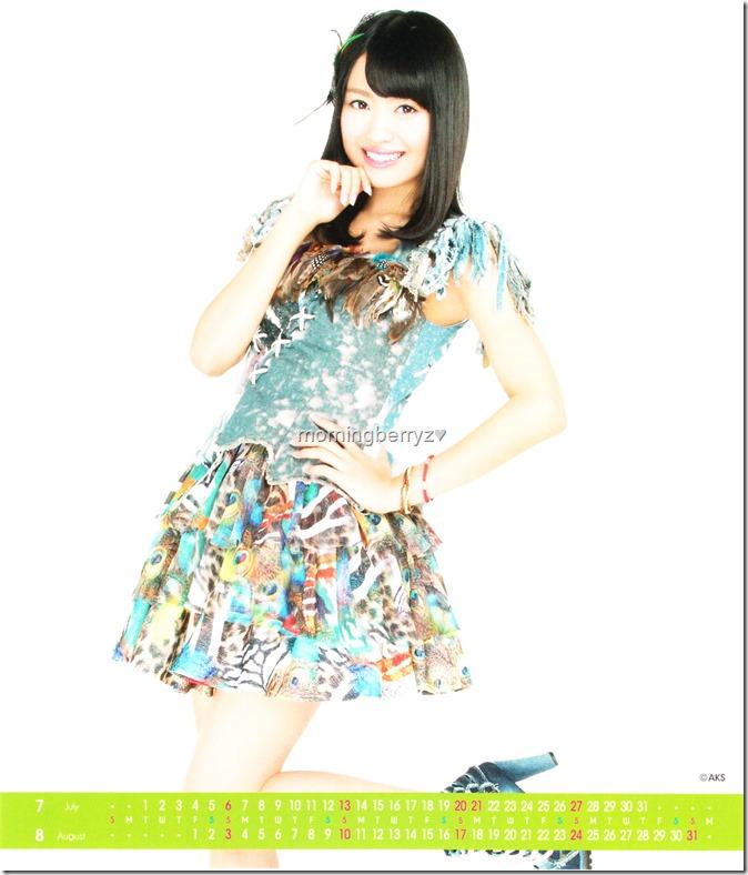 Kitahara Rie 2014 Desktop Calendar (5)