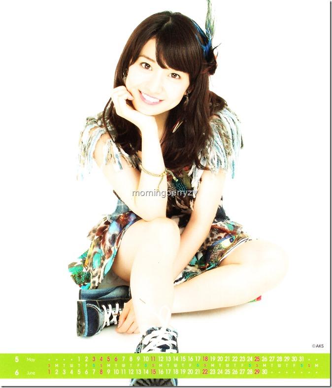 Oshima Yuko 2014 Desktop Calendar (4)