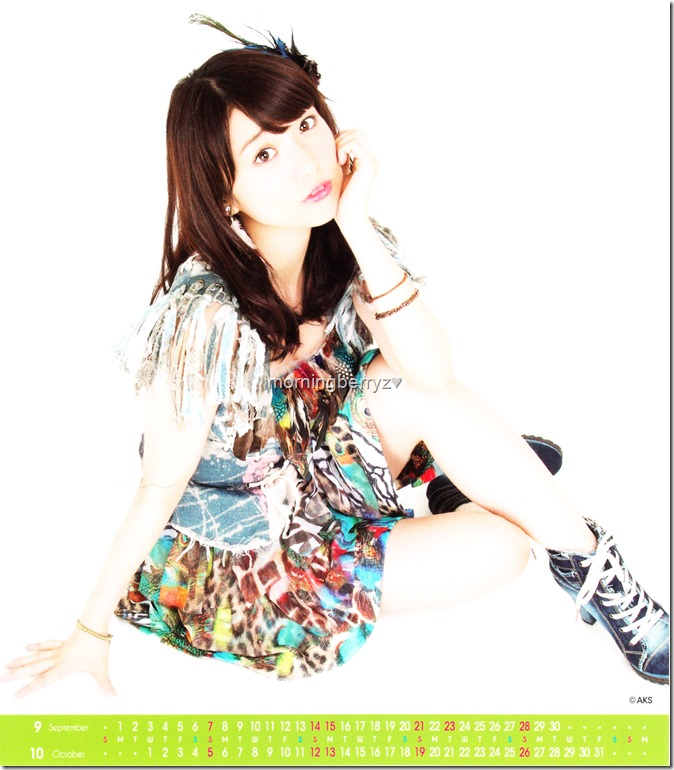 Oshima Yuko 2014 Desktop Calendar (6)