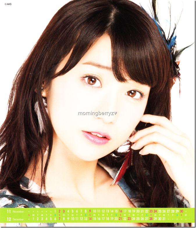 Oshima Yuko 2014 Desktop Calendar (7)