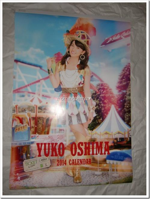 Oshima Yuko 2014 Wall Calendar (1)