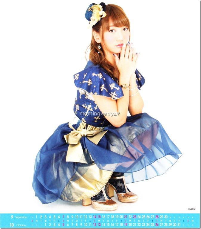Takajo Aki 2014 Desktop Calendar (6)