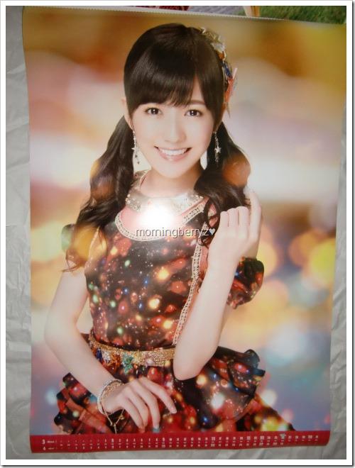 Watanabe Mayu 2014 Wall Calendar (3)