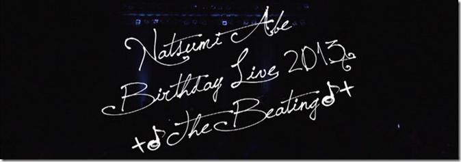 Abe Natsumi Birthday Live 2013 (1)