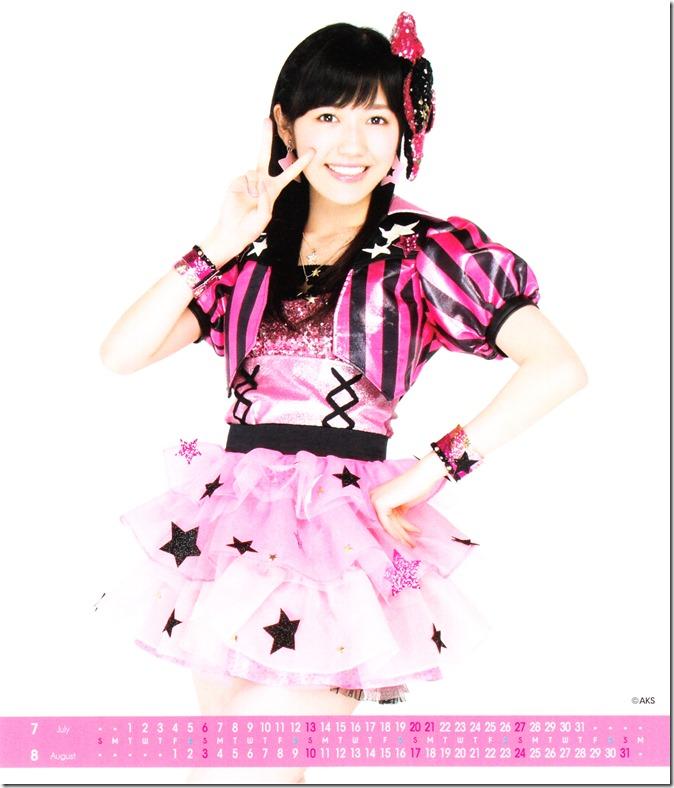 Watanabe Mayu 2014 Desktop Calendar (5)