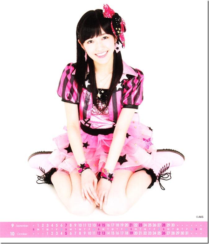 Watanabe Mayu 2014 Desktop Calendar (6)