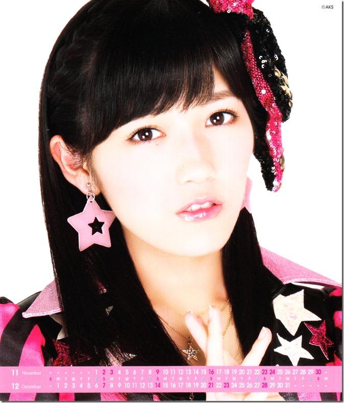 Watanabe Mayu 2014 Desktop Calendar (7)