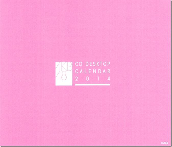 Watanabe Mayu 2014 Desktop Calendar (8)