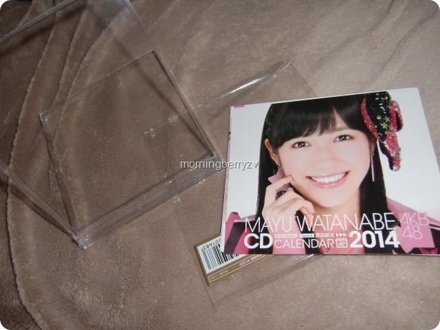 Watanabe Mayu 2014 Desktop Calendar