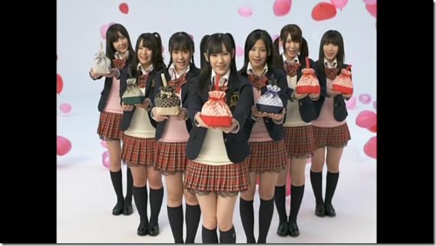 Watarirouka Hashiritai in Valentine Campaign CM making (25)