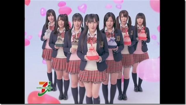 Watarirouka Hashiritai in Valentine Campaign CM making (5)