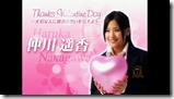 Watarirouka Hashiritai in Valentine Campaign CM making (8)
