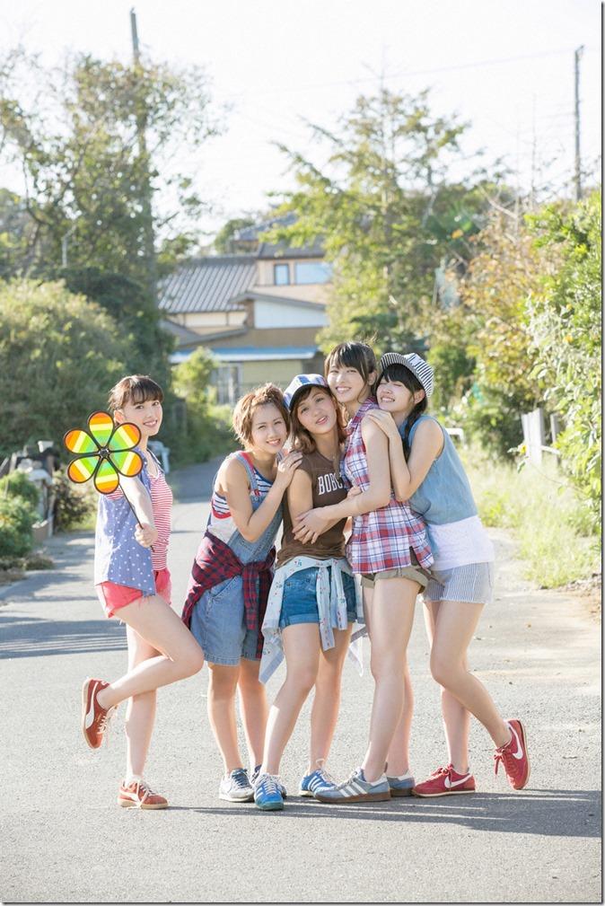 C-ute  Owaranai natsu YS Web Vol.581 (17)