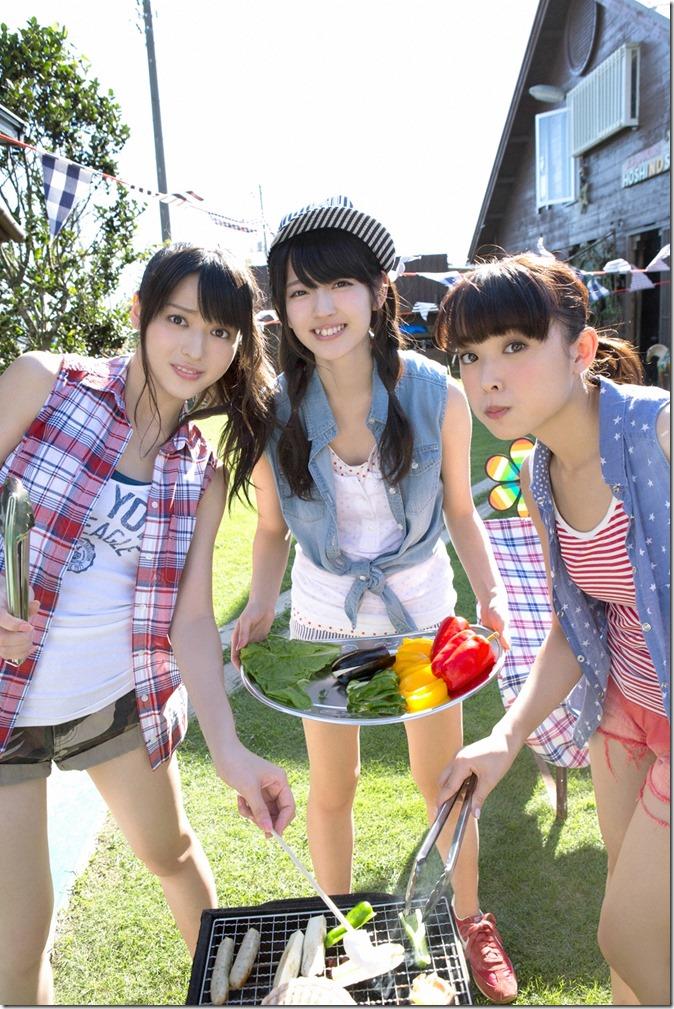 C-ute  Owaranai natsu YS Web Vol.581 (4)