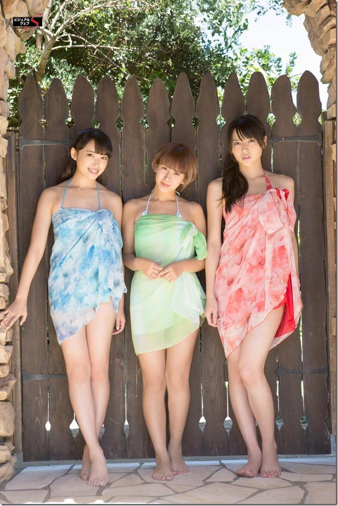 C-ute  Owaranai natsu YS Web Vol.581 (88)