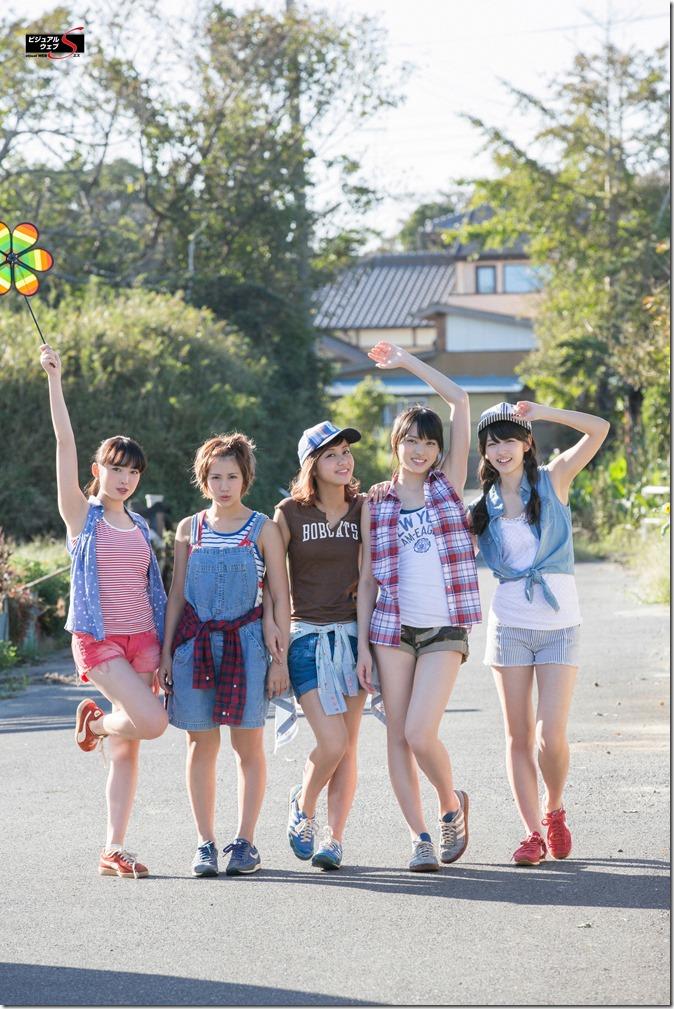 C-ute  Owaranai natsu YS Web Vol.581 (95)