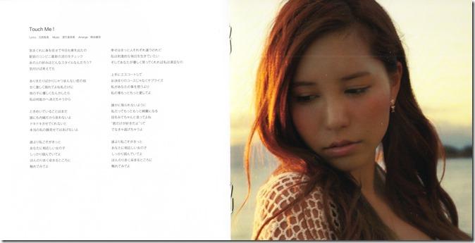 Kasai Tomomi Kietai kurai type A single jacket (3)