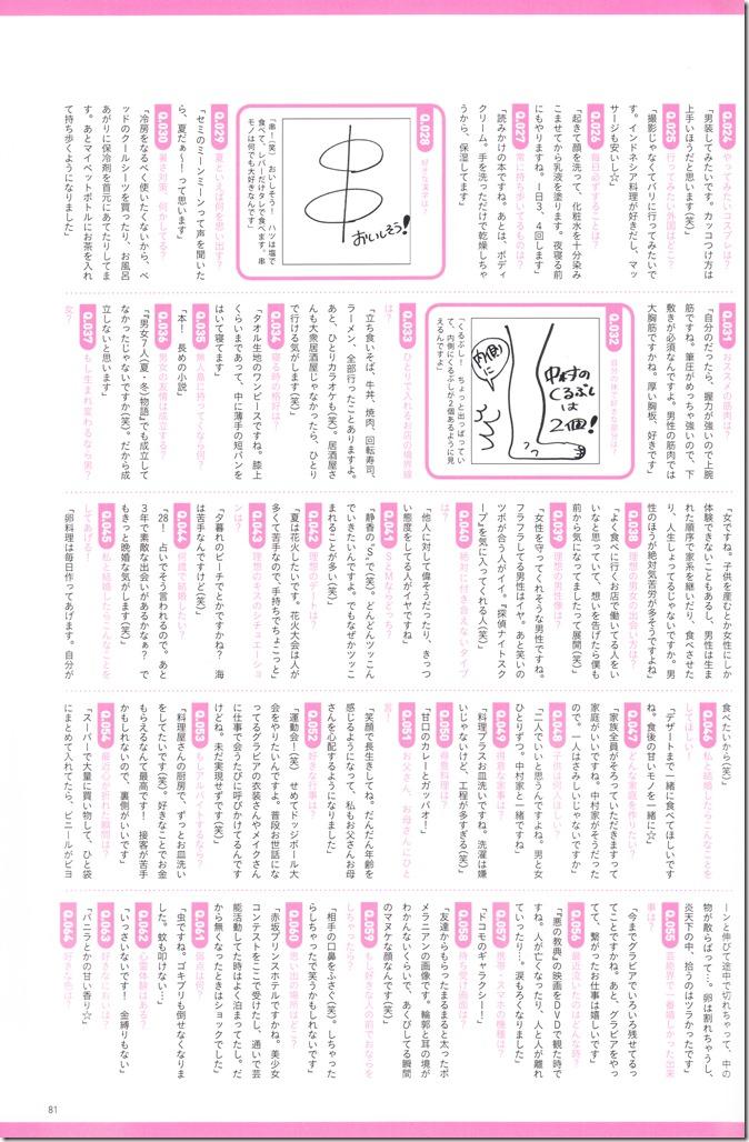 Nakamura Shizuka Kiss BOMB mook (12)
