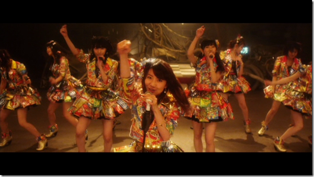 AKB48 in Mae shika mukanee (dance ver (14)