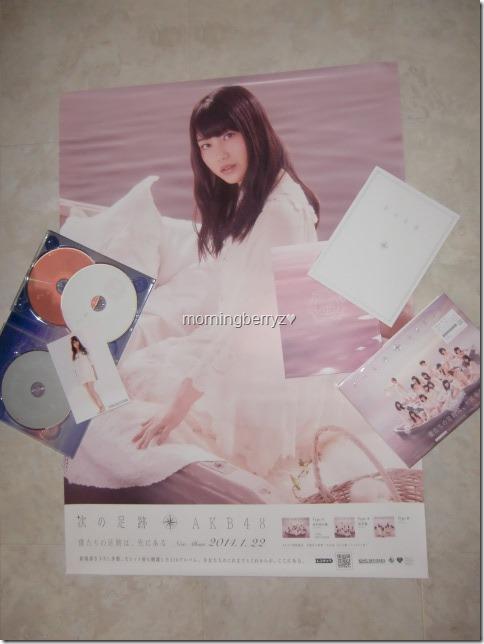 AKB48 Tsugi no ashiato type A box set with first press random poster & member photo extra