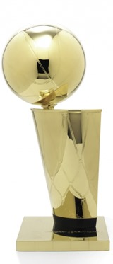 The Larry O'Brien NBA Championship Trophy