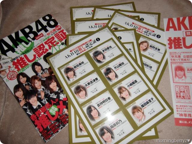 AKB48 Oshi! book