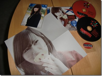 Maeda Atsuko Seventh Code type A single with first press random photo & sticker