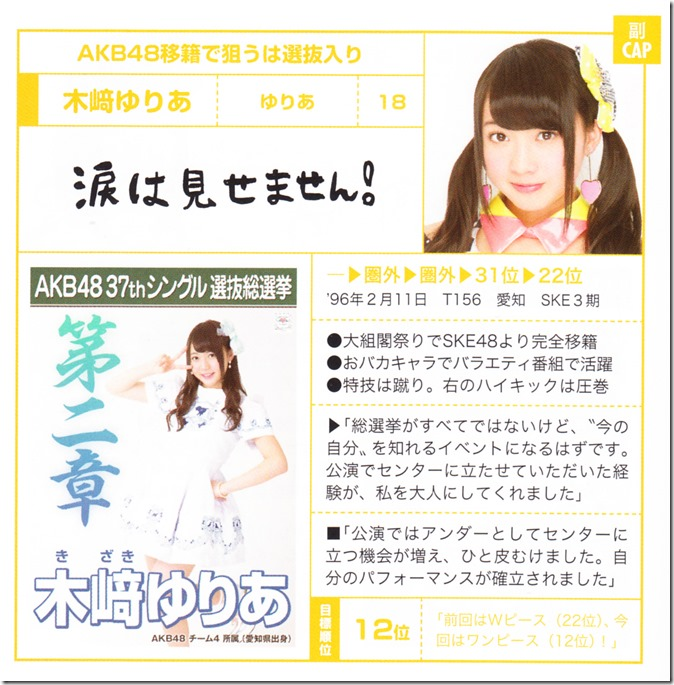 AKB48 Sosenkyo Official Guide Book 2014 (31)