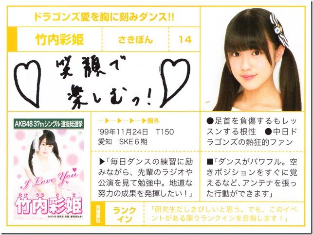 AKB48 Sosenkyo Official Guide Book 2014 (34)