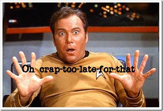 Captain Kirk says...