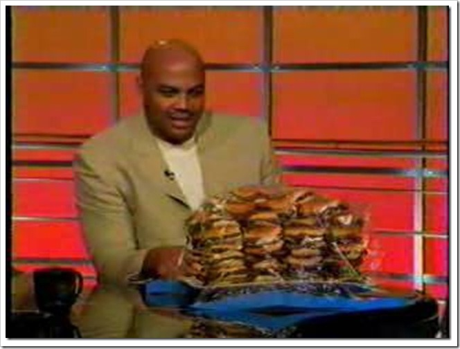 Charles Barkley turrible............