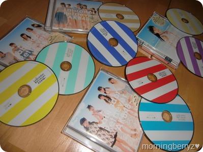 AKB48 Labrador Retriever singles types A, K, B & 4