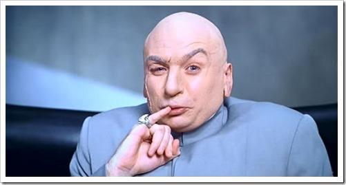Dr. Evil is amused =D...