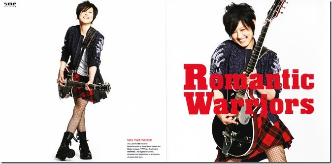 Kishitani Kaori Romantic Warriors single jacket (1)