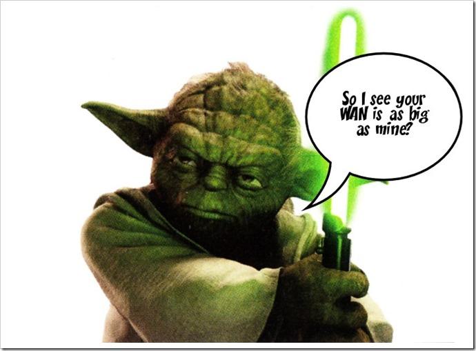Yoda realizes....