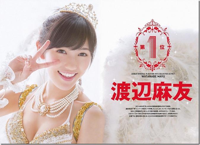 AKB48 2014 Sosenkyo Mizugi Surprise (2)