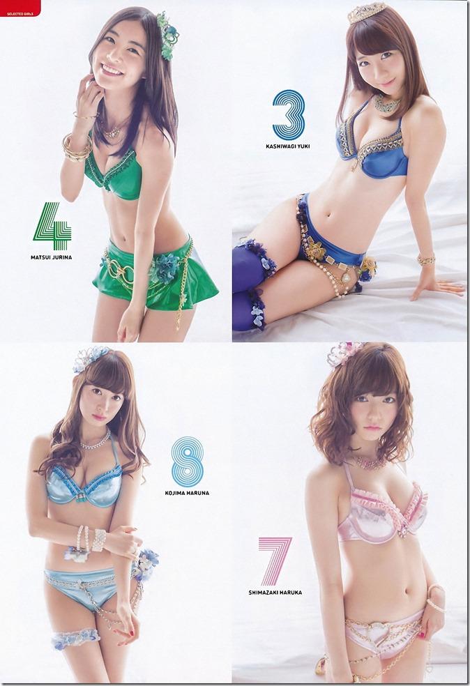 AKB48 2014 Sosenkyo Mizugi Surprise (4)