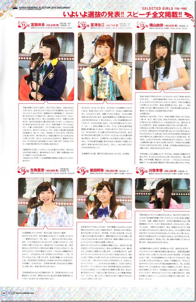 AKB48 2014 Sosenkyo Mizugi Surprise mook (130)