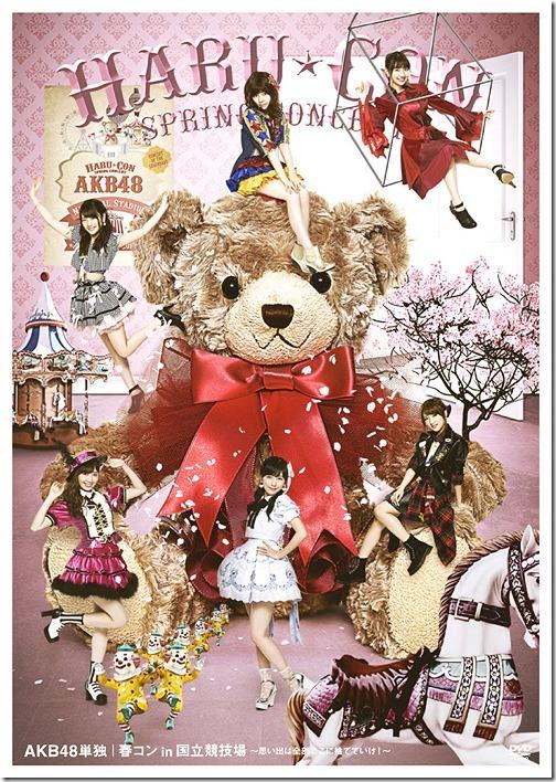 AKB48 Tandoku Haru Con in Kokuritsu Kyogijo - Omoide wa Zenbu Koko ni Suteteike! DVD